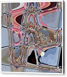 Acrylic Print featuring the digital art Exit by Eleni Mac Synodinos