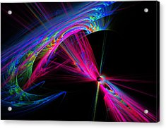 Exiting Hyperspace Acrylic Print