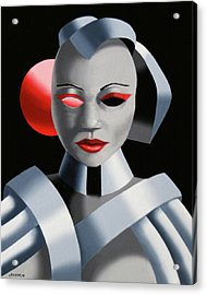 Exoskeleton 1  Acrylic Print by Mark Webster
