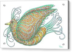 Exotic Bird IIi Acrylic Print