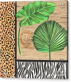 Exotic Palms 2 Acrylic Print by Debbie DeWitt