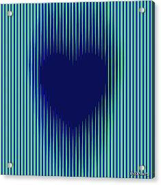Expanding Heart 2 Acrylic Print
