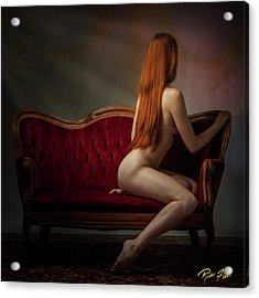 Acrylic Print featuring the photograph Expectation by Rikk Flohr