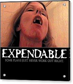 Expendable 8 Acrylic Print