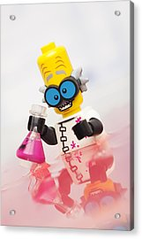 Experiment Gone Wrong Acrylic Print by Samuel Whitton