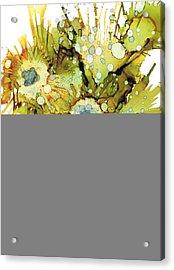 Exploding Sun Flowers Acrylic Print