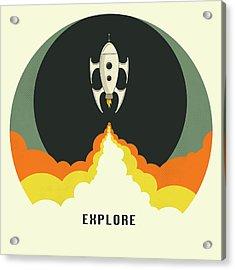 Explore Space Acrylic Print