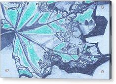 Exploring A Leaf 2 Acrylic Print