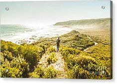 Exploring The West Coast Of Tasmania Acrylic Print
