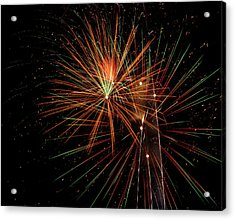 Acrylic Print featuring the photograph Explosion by Broderick Delaney