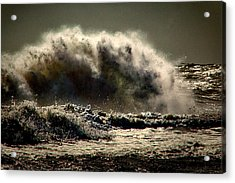 Explosion In The Ocean Acrylic Print