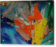 Acrylic Print featuring the painting Explosion by Karin Eisermann
