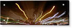 Explosion Of Lights Acrylic Print