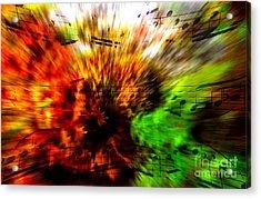Explosive Exposition Acrylic Print