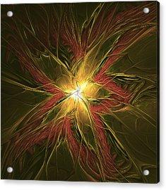 Explosive New Star Acrylic Print by Deborah Benoit
