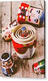 Exposing The Controller Acrylic Print by Jorgo Photography - Wall Art Gallery