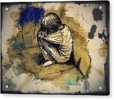 Express Myself Acrylic Print by Paulo Zerbato