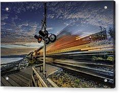Express Train Acrylic Print