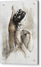 Acrylic Print featuring the painting Expression by Steve Henderson