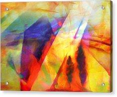 Expressive Lightscape Acrylic Print