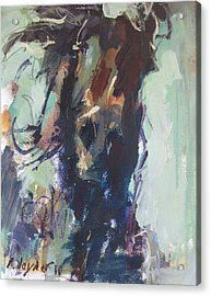 Acrylic Print featuring the painting Expressive by Robert Joyner