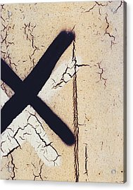 Exs N Ohs Acrylic Print by Empty Wall