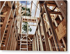 Extension Ladder And Framing Acrylic Print