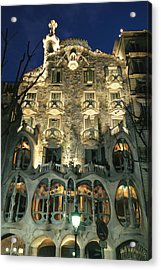 Exterior View Of An Antoni Gaudi Acrylic Print by Richard Nowitz
