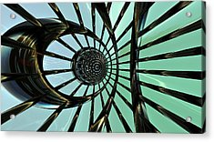 Extracts From A Mechanical Vision Acrylic Print by Ricky Jarnagin