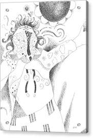 Exuberance Acrylic Print by Helena Tiainen