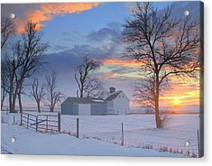 Eye Candy..winters Acrylic Print
