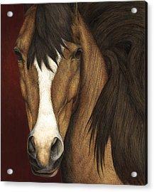 Eye Contact Acrylic Print by Pat Erickson