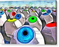 Eye Farming - Pa Acrylic Print