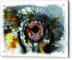 Eye In Hands 001 Acrylic Print