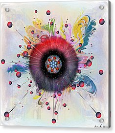 Eye Know Light Acrylic Print by Iowan Stone-Flowers