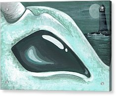 Eye Of The Coast Dragon Acrylic Print by Elaina  Wagner