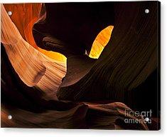 Eye Of The Needle Acrylic Print by Mike  Dawson