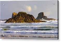 Eye Of The Storm Acrylic Print by Mike  Dawson