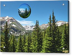 Eye On Summit County Acrylic Print