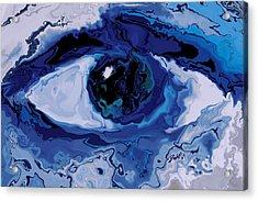 Acrylic Print featuring the digital art Eye by Rabi Khan