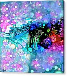Eye See Acrylic Print by Saundra Myles