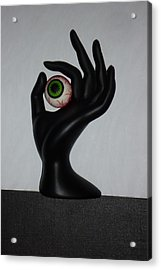 Eyehand Acrylic Print by Douglas Fromm