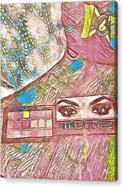 Eyes Acrylic Print by Jason Lees