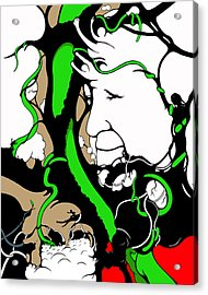 Eyes Of Faith Acrylic Print