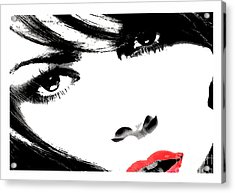 Eyes Of Lust Acrylic Print