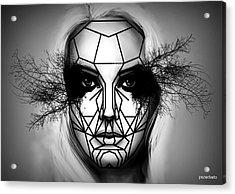 Eyes Tell The Truth Acrylic Print by Paulo Zerbato