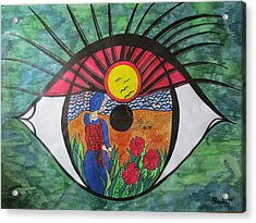 Eyewitness Acrylic Print