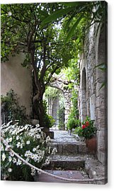 Acrylic Print featuring the photograph Eze Passageway by Carla Parris