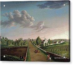 Ezekiel Hersey Derby Farm Acrylic Print by Michele Felice Corne