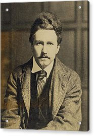 Ezra Pound 1885-1972, In The 1920s Acrylic Print by Everett